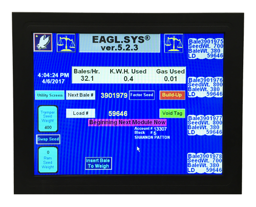 LECO EAGLSYS Screen